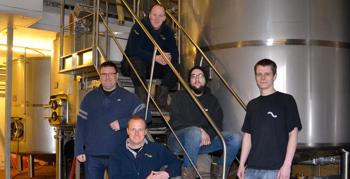 Surrey Hills Brewery Team Photo