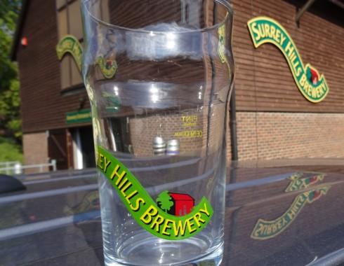 Surrey Hills Pint Glass